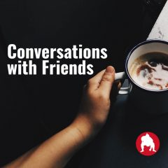 conversation with friends